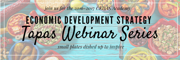 Economic Development Strategy Tapas Webinar Series